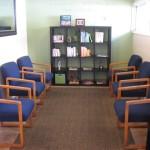 chiropractor waiting room